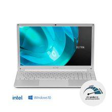 Notebook Ultra, com Windows 10 Home, Processador Intel Core i5, Memória 8GB RAM e 240GB SSD, Tela 15,6 Pol. Full HD, Prata - UB522