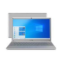 Notebook Ultra, com Windows 10 Home, Processador Intel Core i3, Memória 4GB RAM e 120GB SSD, Tela 14,1 Pol. Full HD, Prata - UB420