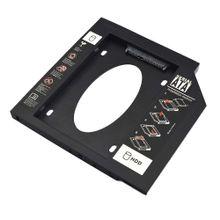Adaptador HDD/SSD Para Notebook Via Baia De 9,5Mm CD/DVD - GA172