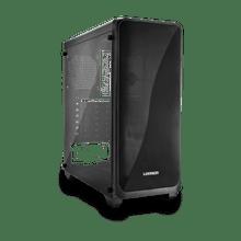 Gabinete Gamer Modoc Painel Lateral Temperado Preto Warrior - GA178