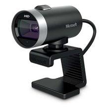 Microsoft Webcam Cinema USB Preta - H5D00013