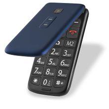 Celular Flip Vita Multilaser Dual Chip MP3 Azul - P9020