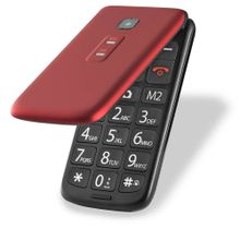 Celular Flip Vita Multilaser Dual Chip MP3 Vermelho - P9021