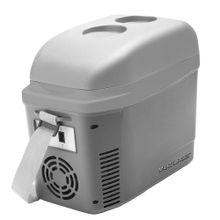 Minicooler 7L Cinza Fosco Com Porta Copos 12V Com Alça - TV013
