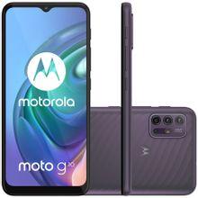 "Celular Motorola Moto G10 Cinza Aurora 64GB Tela 6.5"" 4GB RAM Câmera Quádrupla 48MP + 8MP + 2MP + 2MP"