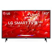 """SmartTV LG 43"""" Full HD 43LM6370 WiFi Bluetooth HDR ThinQAI Dark Iron Gray Bivolt"""