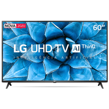 Smart Tv LG 60 Led UHD 4k 60UN7310PSA Wi-Fi, Bluetooth, HDR
