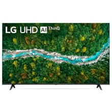 Smart TV LG 60'' 4K UHD 60UP7750 WiFi Bluetooth HDR IAl ThinQ Smart Magic Preto Bivolt