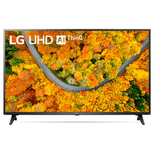 Smart TV LG 50'' 4K UHD UP7550PSF WiFi Bluetooth HDR Inteligência Artificial ThinQ Preto