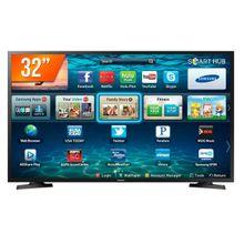 Smart TV LED 32 Polegadas Samsung LH32BETBLGGXZD 2HDMI 1USB Preto Bivolt