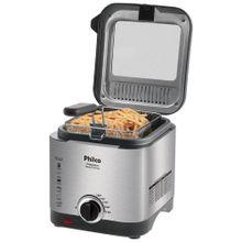 Fritadeira Elétrica Philco Deep Fry 1,8 Litros Inox 110V