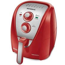Fritadeira Mondial Family Inox 4L 1500W AFN-40-RI Vermelho 110V