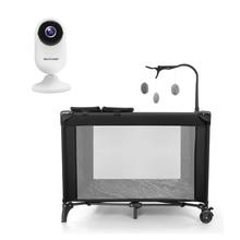 Combo Segurança - Câmera Interna Inteligente HD Wi-Fi e Berço Desmontável - SE223K