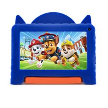 """Tablet Multilaser Patrulha Canina Chase WIFI 32GB Tela 7"""" Android 11 Go Edition com Controle Parental - NB376"""