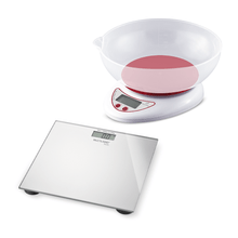 Combo Controle de Peso - Balança Digital - Digi Health e  Balança De Cozinha Com Cuba 5Kg - HC021K