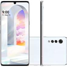 Smartphone LG Velvet LM - G910EMW 6GB 128GB Tela 6,8 48Mp+8Mp+5Mp Aurora White