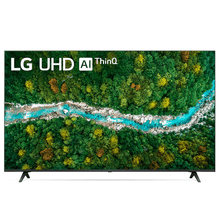 Smart TV LG 50'' 4K UHD 50UP7750 WiFi Bluetooth HDR Inteligência Artificial ThinQ Smart Magic Google Alexa Preto Bivolt