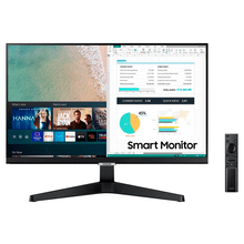Monitor Smart Samsung Full HD 24 Polegadas S24AM506NL Preto