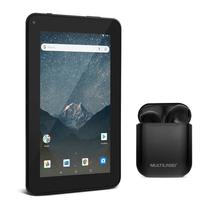 Combo High Tech - Tablet Multilaser M7S GO Wi-Fi 7 Pol. 16GB Quad Core Android 8.1 e Fone de Ouvido TWS Airbud Preto Multilaser - PH358K