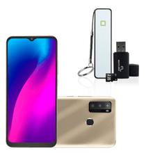 Combo Smartphone - Smartphone Multilaser G Max 2 64 GB e Kit Smartphone Multilaser Power Bank + Leitor de Cartão + Cartão de Memória CL4 8GB - P9157K