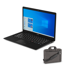 Compre Notebook Ultra, com Windows 10 Home, Memória 4GB RAM e 120GB SSD e Ganhe Pasta Para Notebook 14Pol. Chumbo Multilaser - BO101K